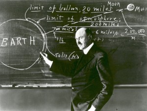 Dr. Robert Goddard at Clark University