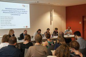TeilnehmerInnen des Wissenschaftsgespräch im Rahmen der Summer School der Heidelberg School of Education, Juli 2016 (Foto: HSE)