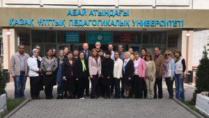 Die zahlreichen Teilnehmer aus den verschiedenen Ländern trugen zu einem differenzierten Meinungsbild über Deutsch als Fremdsprache bei (Abbildungsnachweis: Foto von Stefan H. Nessler & Nadja Wulff)