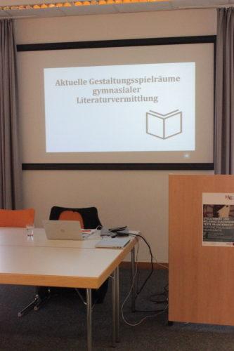 Posterpraäsentation von der Tagung zu Klassischer Philologie im Unterricht