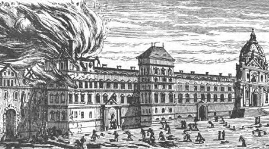 La Sorbonne déjà en flammes au 17e siècle