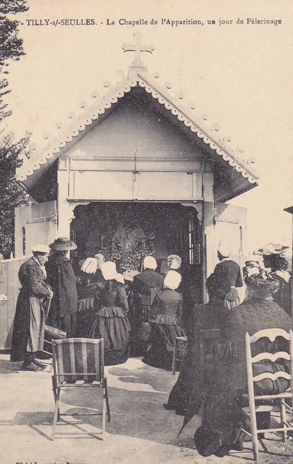 chapelle Tilly jour de pèlerinage