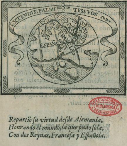 Libro de las honras 1603, Blatt 51  (http://bibliotecadigital.rah.es/dgbrah/es/consulta/registro.cmd?id=633)