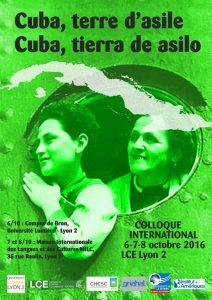Affiche Cuba Terre d'Asile