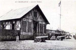 Casablanca 1914 - Quartier général