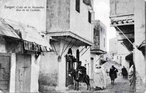 Tanger - calle de la Alcazaba, rue de la casbah