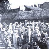 Foule marocaine, Maroc 1915-1916 - Photo © Joseph Miquel