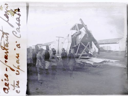 Aero partant pour être réparé à Casab. (1)