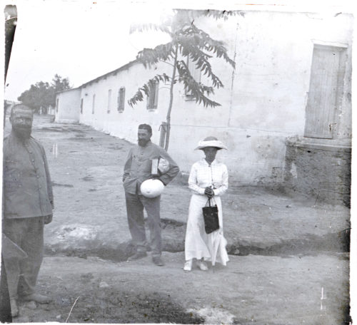 M. et Mme de Bellet - été 1916 - Meknès