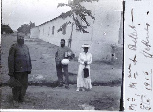 M. et Mme de Bellet - été 1916 - Meknès (3)