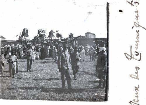 1915- 1916, Maroc Jeux des tourniquets