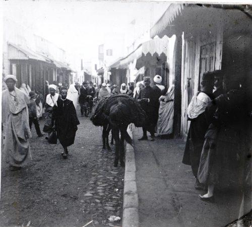 Rue Souika - Rabat, Maroc 1915