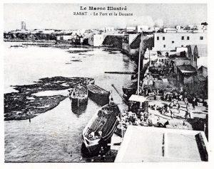 Rabat le port et la douane
