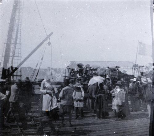 Famille Miquel à Rabat 1918.