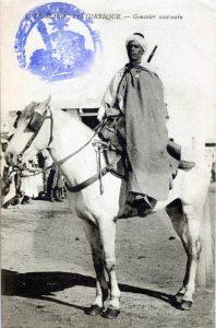 carte postale 1915 Maroc - Goumier
