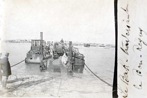 le bak du Bou Regreg -Rabat,Maroc 1917