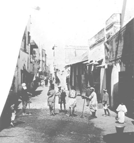 Maroc 1917 - une rue