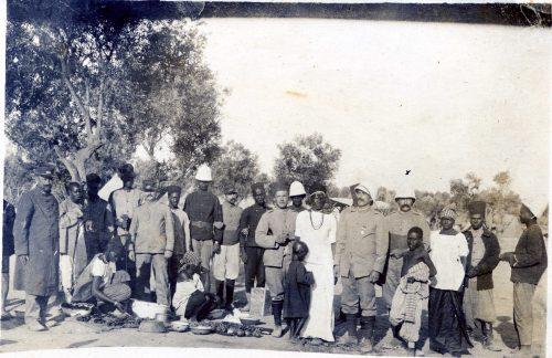 """""""photo souvenir de la campagne du Maroc"""" Maroc Photo 121e Territorial - Joseph Miquel Maroc 1915"""