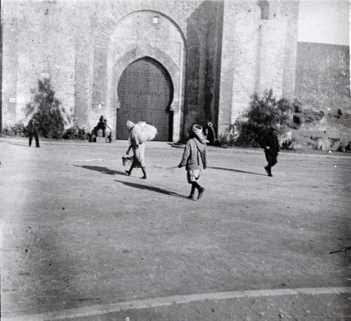 Porte les remparts Rabat