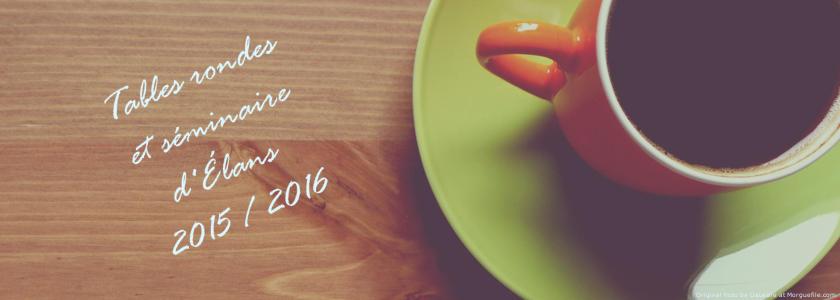 Compte-rendu : Activités 2015/2016 d'Élans