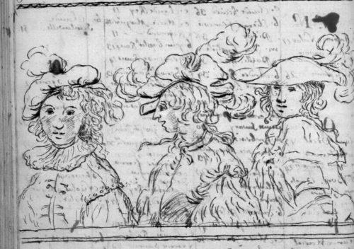 Les Trois Mousquetaires avant l'heure, fin de table annuelle de 1762, paroisse Sainte-Croix.