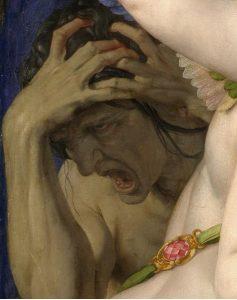 """Détail de """"Venere, Cupido, la Follia e il Tempo"""" Di Agnolo Bronzino 1545 https://commons.wikimedia.org/w/index.php?curid=148309"""