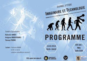 programme Imaginaire et Technologie