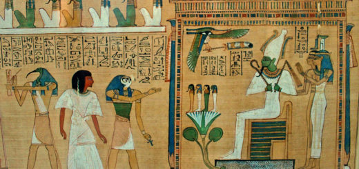 Funeral and entrance into the netherworld from the papyrus of Ani, Book of the Dead of Ani, Thebes, about 1275 BC, October 4, 2012 | © Courtesy of Frans Vandewalle.