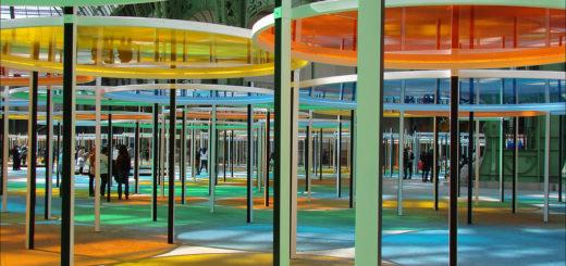 Daniel Buren, Monumenta 2012, Grand Palais, Paris, France, May 16, 2012 | © Courtesy of Jean-Pierre Dalbéra/Flickr.