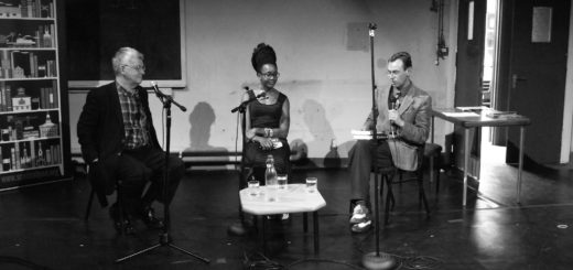Nnedi Okorafor & Ken MacLeod, Scottish Pen Talk, Newington, Edinburgh, Scotland, UK, June 14, 2014 | © Courtesy of byronv2/Flickr.