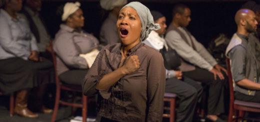 Janinah Burnett as Harriet Tubman, February 18, 2014 | © Courtesy of Richard Termine/AOP Images/Flickr.