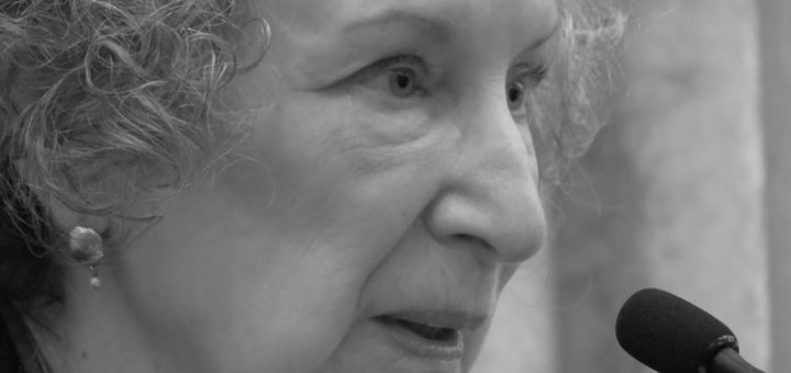 Margaret Atwood, April 13, 2014   © Courtesy of Michael Sauers/Flickr.