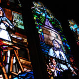 Stained glass ladies, Notre-Dame, Montreal, Canada, May 28, 2010 | © Courtesy of Rebecca Wilson/Flickr.