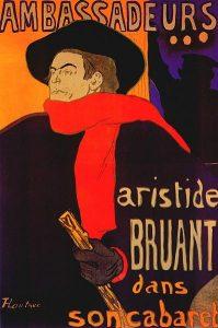 Ambassadeurs : Aristide Bruant dans son cabaret