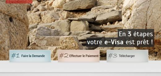 Page d'accueil de la version française du site e-visa du gouvernement turc.