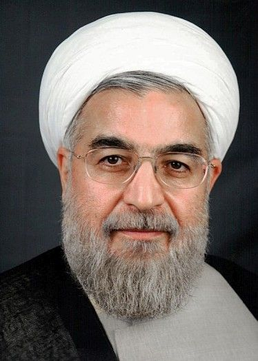 « Hassan Rouhani » par BotMultichillT — User:Mojtaba Salimi. Sous licence CC BY-SA 3.0 via Wikimedia Commons