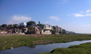 Bharuch fort from the Narmada