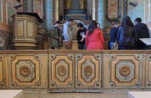 Teia de altar (com mesa de comunhão)