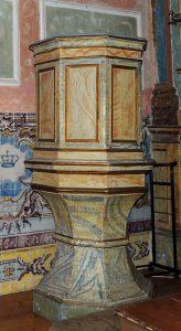 Púlpito Século XVIII-XIX Lisboa, Universidade Europeia
