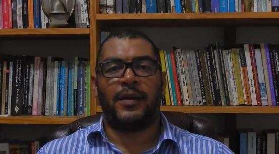 Palabras del doctor Flavio Goncalves dos Santos