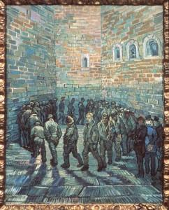 Van Gogh, La ronde des prisonniers, 1890 © Archives Alinari, dist. RMN/F. Alinari