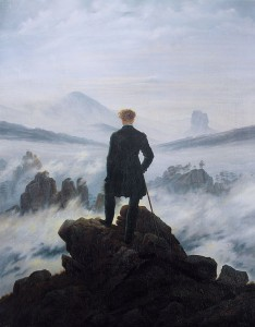 Caspar Friedrich, Le voyageur au-dessus de la mer de nuages