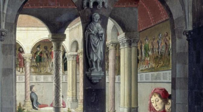 Retable de Saint-Omer : scènes de la vie de saint Bertin, Simon Marmion (15e s.) © BPK, dist. RMN-GP/Jörg P. Anders