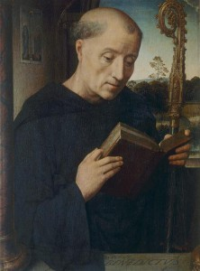 Saint Benoit, Hans Memling (15e s.) © Archives Alinari, dist. RMN-GP/Finsiel/Alinari