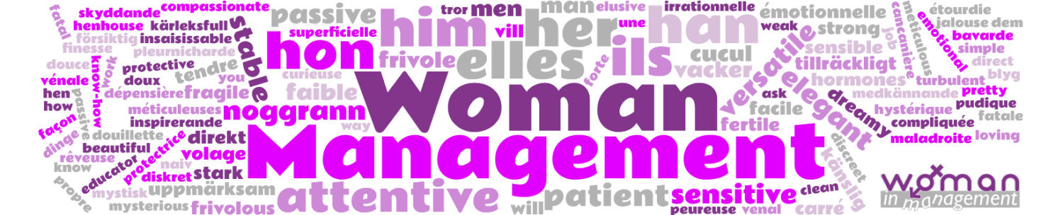 WOMAN – WOman in MANagement