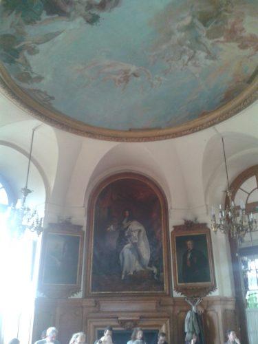 Salle du conseil - Observatoire de Paris (et son magnifique plafond peint)