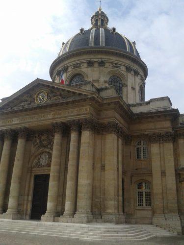 Coupole de l'Institut de France, quai de Conti à Paris