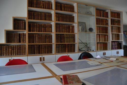 Salle de lecture des archives de l'Académie des sciences