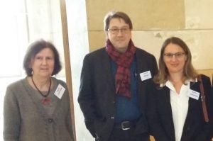 Le comité de pilotage de l'ANR (Nicole Captaine, Laurent Rollet et Martina Schiavon)
