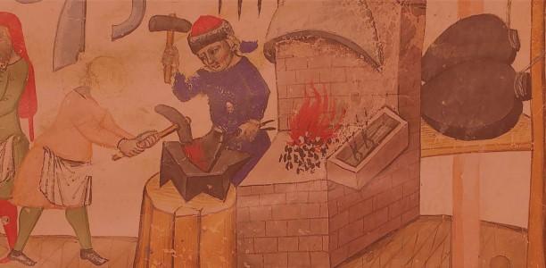 Hommes et travail du métal dans les villes médiévales : 35 ans après